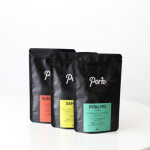 Perk Coffee Taster Pack Trio